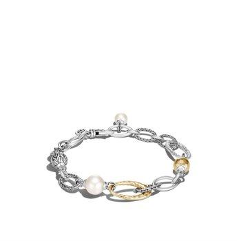 John Hardy Palu Pearl Charm Bracelet