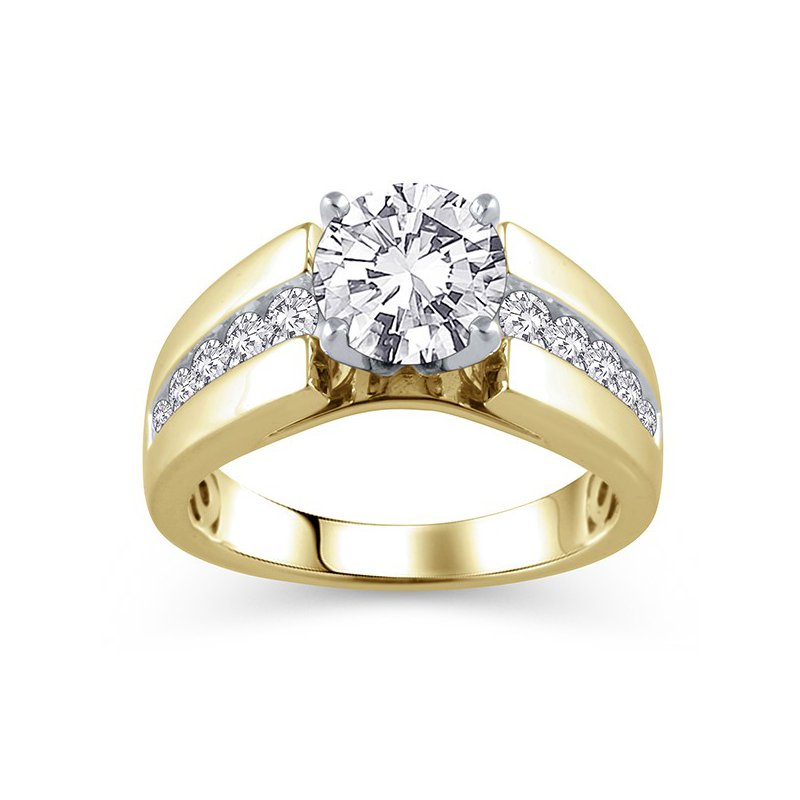 Lasker Bridal Classic 8mm Cathedral Ring Mounting