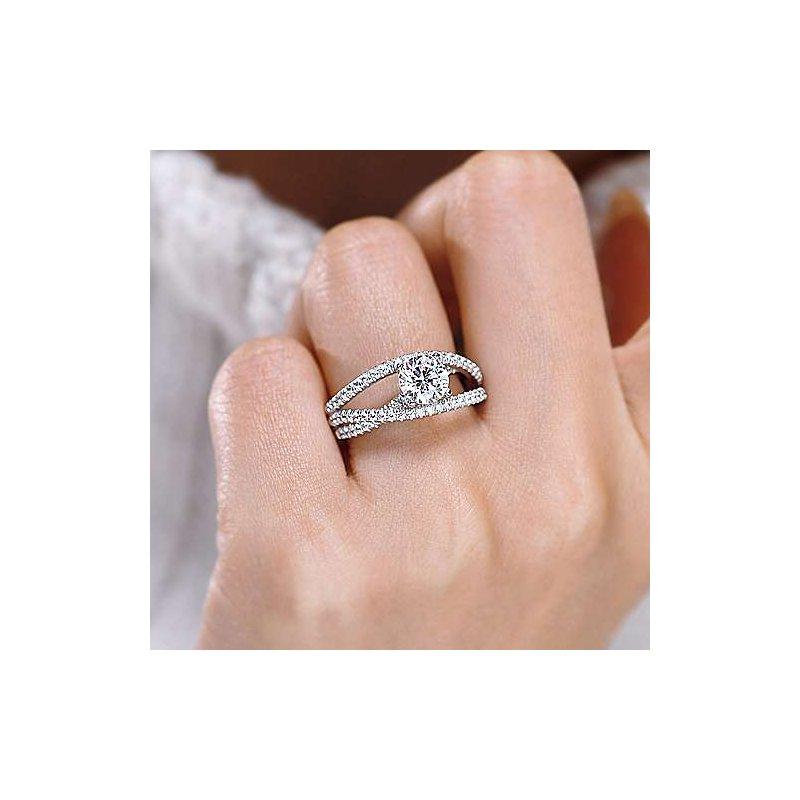 Gabriel Bridal Gabriel Mackenzie Streaming Ring Mounting