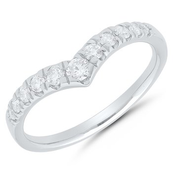 Chevron Collection Band - .25ctw