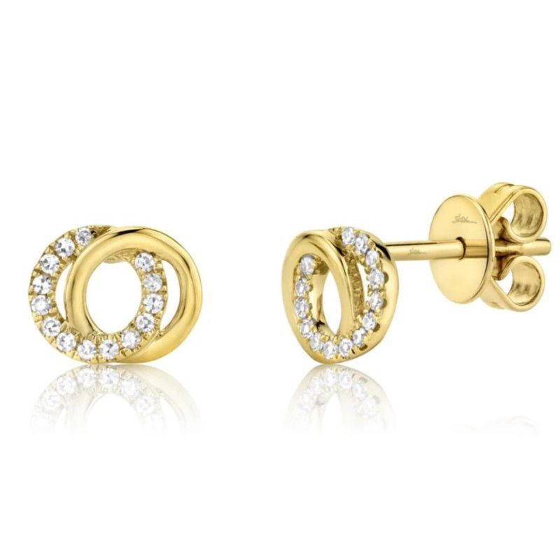 Lasker Diamond Fashion fYou and Me Earrings
