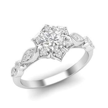 Melina Halo Ring