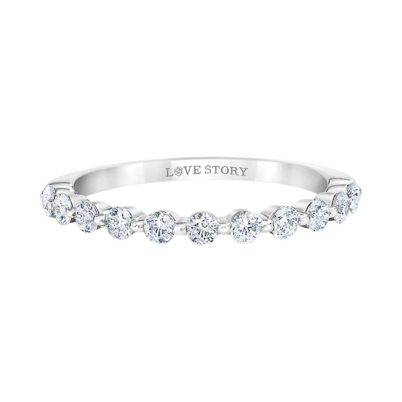 Lasker Bridal Vanessa Stackable Band - .26ctw