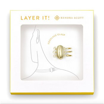 Layer It! Necklace Clasp In Yellow