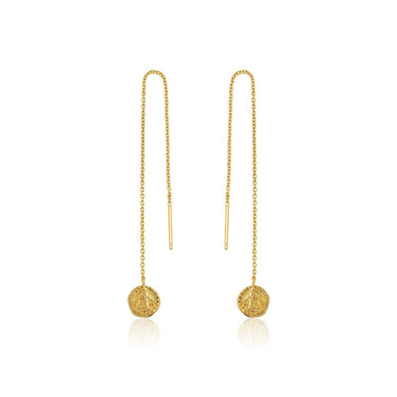 Ania Haie Deus Threader Earrings