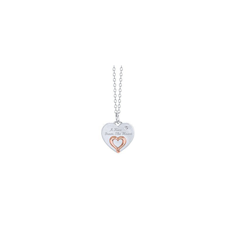 Lasker Signature A Kiss From the Heart Pendant