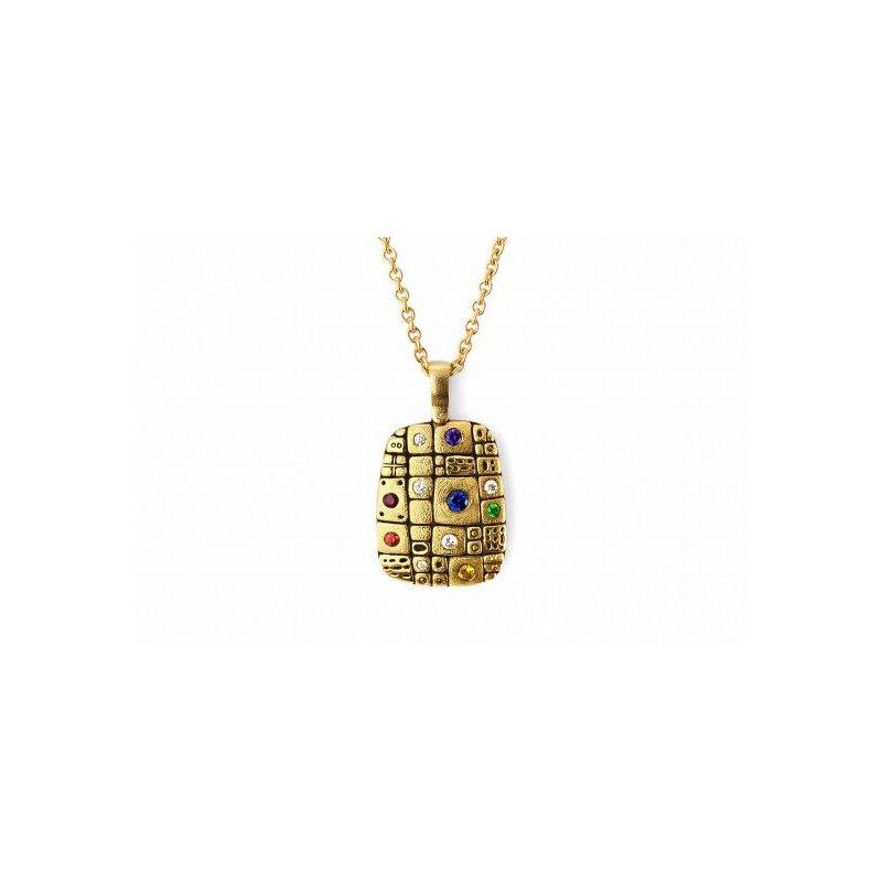 Alex Sepkus Old Pathway 18kt yellow gold pendant