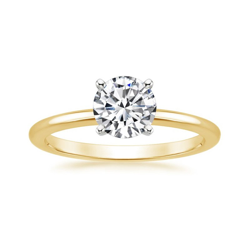 Forevermark Solitaire Ring with Exceptional Round Diamond
