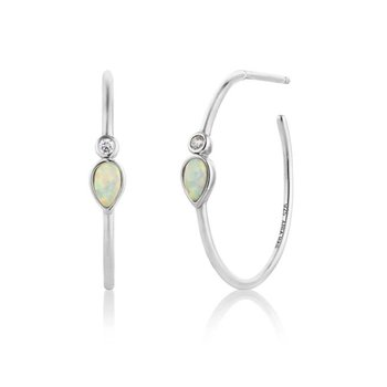 Opal Colour Hoops