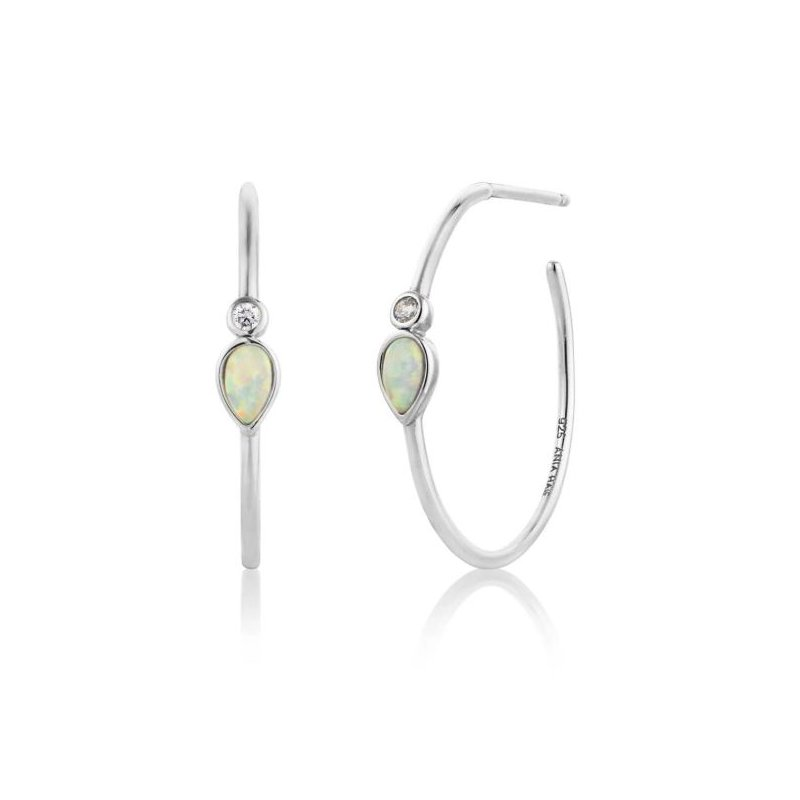 Ania Haie Opal Colour Hoops