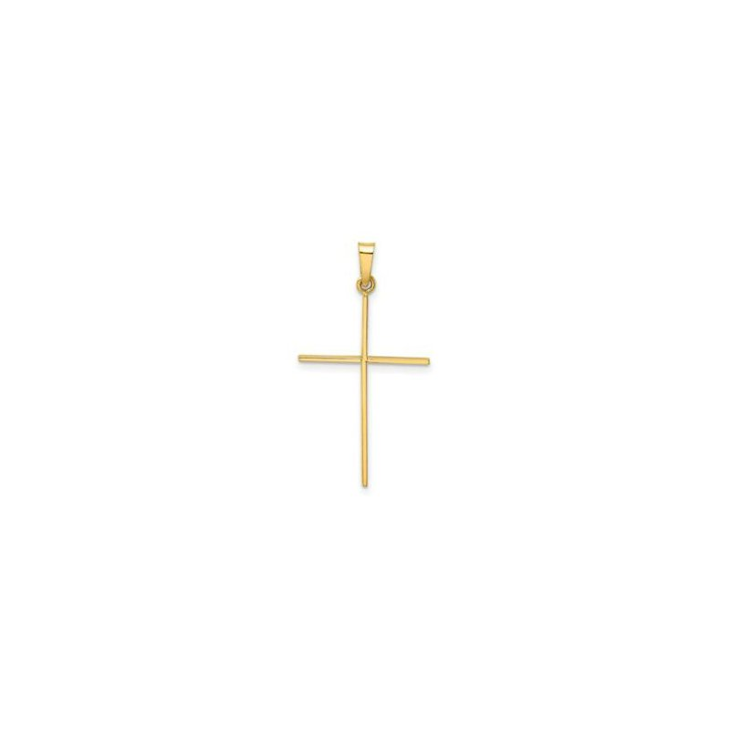 Lasker Gold Fashion Stick Cross Pendant