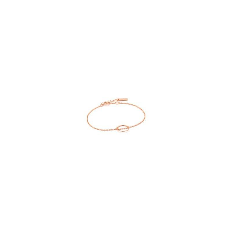 Ania Haie Twist Chain Circle Bracelet