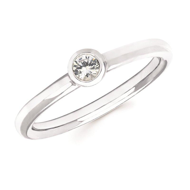 Lasker Gemstone April Birthstone Ring