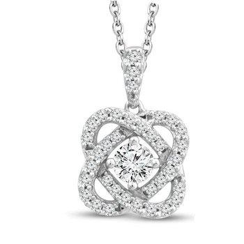 Only You Diamond Pendant - 3/4cttw