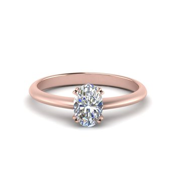 Forevermark Oval Solitaire Engagement Ring