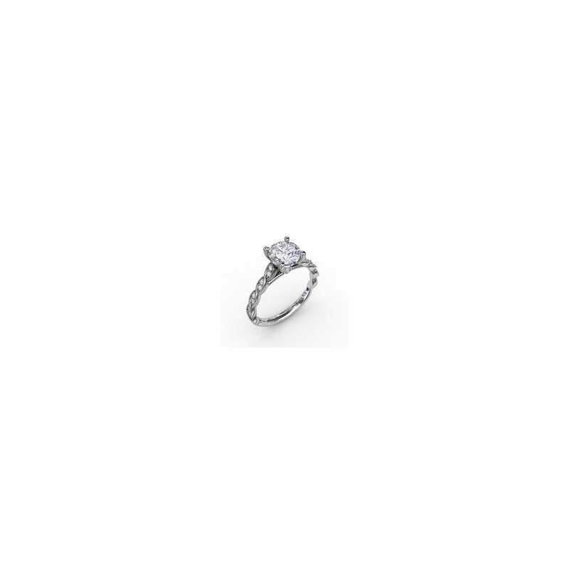 Fana Scalloped Engagement Ring Mounting