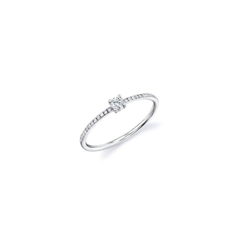 Lasker Diamond Fashion Dainty Promise Ring