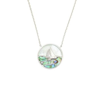 Frederic Sage Sailboat Pendant