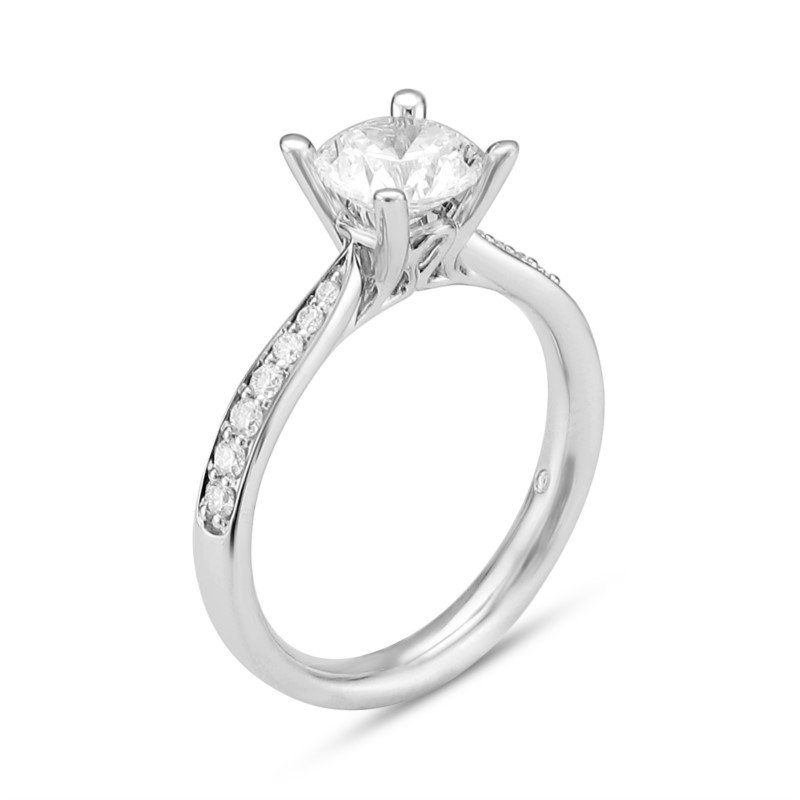 Lasker Bridal Simply Elegant Ring Mounting