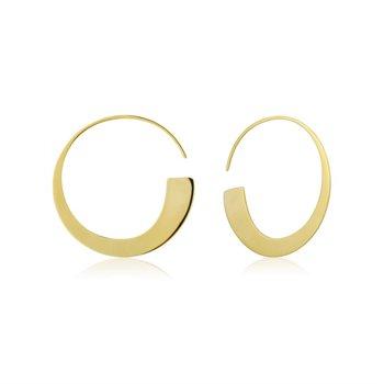 Geometry Class Hoop Earrings