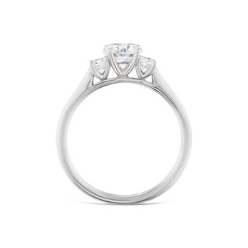 Diamond 3-Stone Ring
