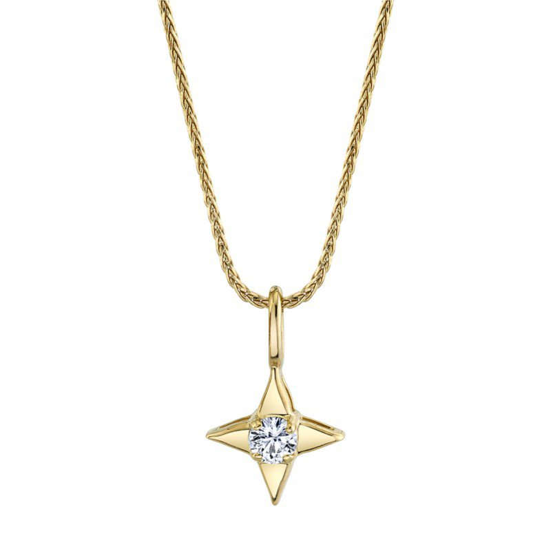 Star Of Hope Diamond Pendant