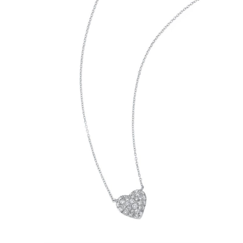 Suna Pave SweetHeart Necklace