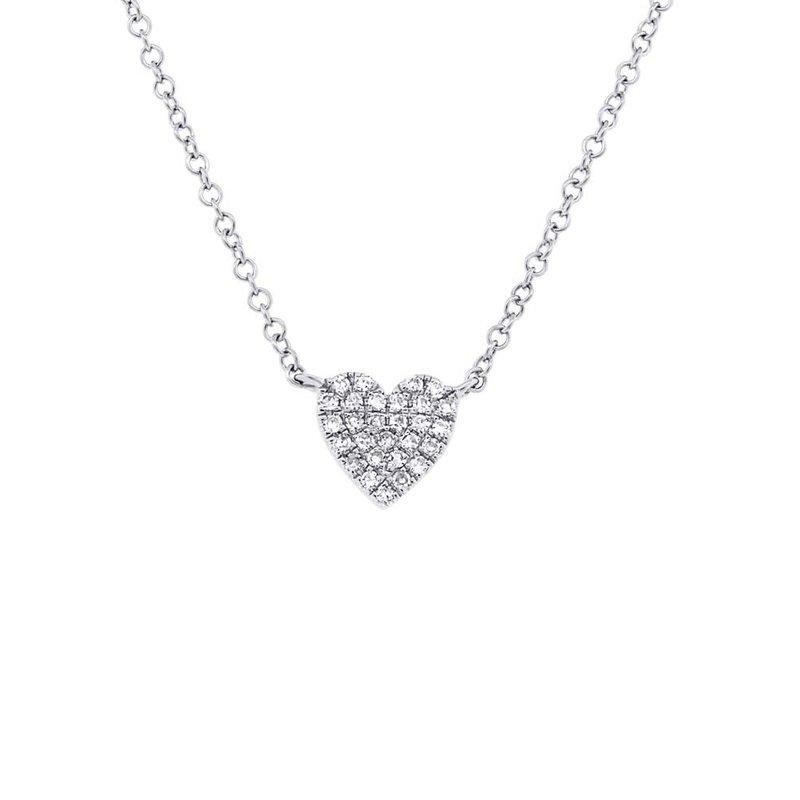 Lasker Diamond Fashion Diamond Pave Full Heart Pendant