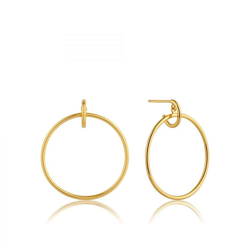 Ania Haie Front Hoop Earrings