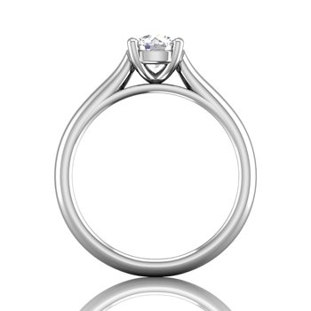 FlyerFit Solitaire Engagement Ring Mounting