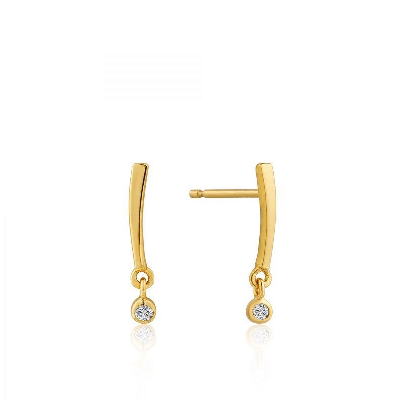 Ania Haie Shimmer Bar Stud Earring