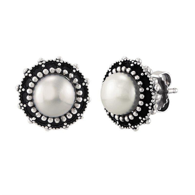 Lasker Pearl Fashion Pearl Stud Earrings