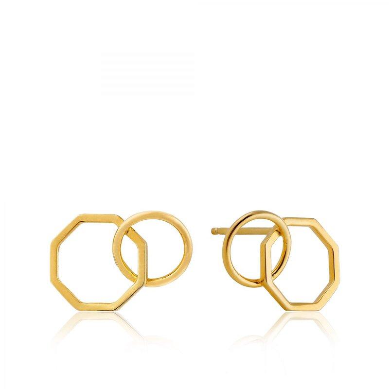 Ania Haie 2-Shape Stud Earrings