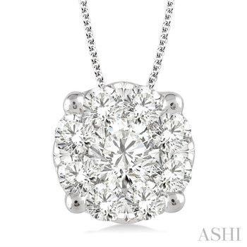 Lovebright Diamond Pendant - 1.50cttw