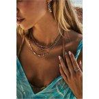 Kendra Scott Kendra Scott Abbie Multi Strand Necklace Gold Metal