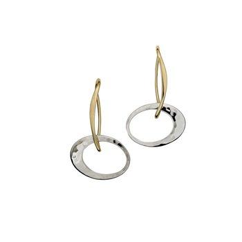 Petite Elliptical Earrings