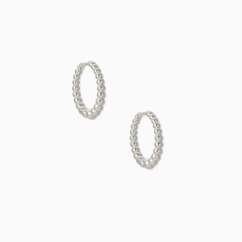Kendra Scott Kendra Scott Josie Huggie Earrings In Silver