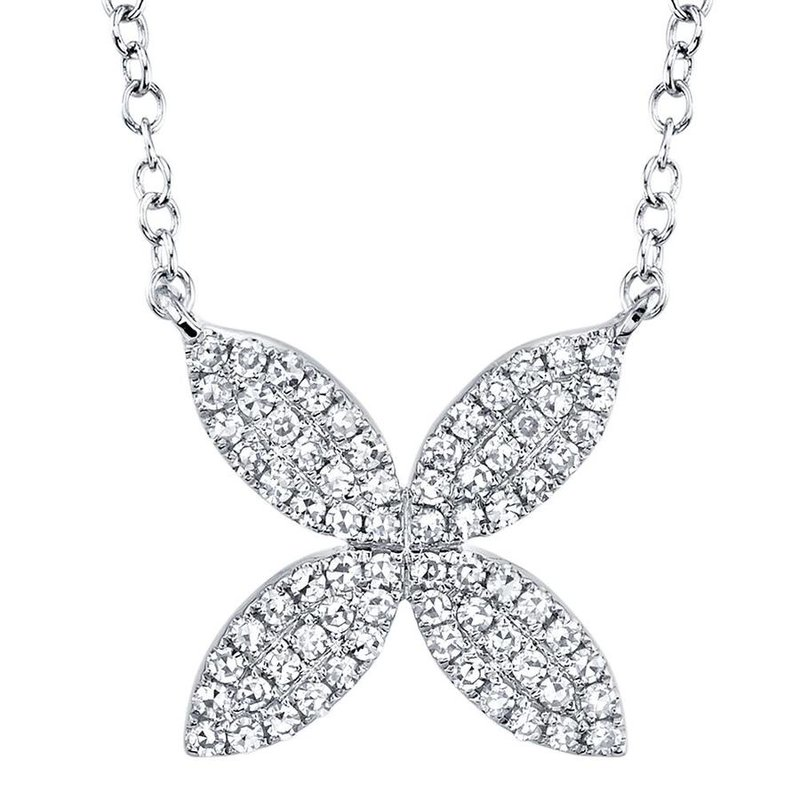 Lasker Diamond Fashion Petal Power Necklace