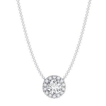 Center Of My World Diamond Pendant In PLATINUM!!!