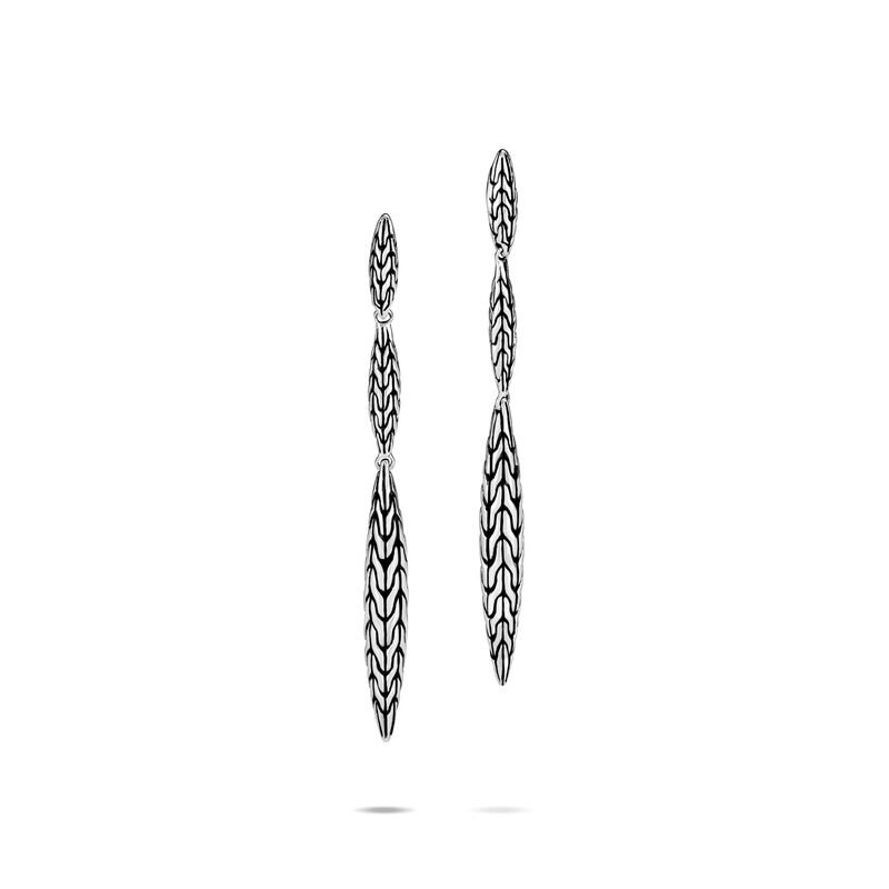 JOHN HARDY Classic Chain Spear Linear Earring