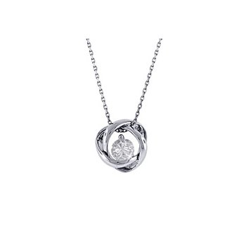 Time & Eternity 0.14ct Pendant