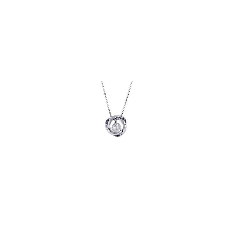 Lasker Diamond Fashion Time & Eternity 0.14ct Pendant