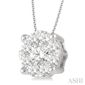 Lovebright Diamond Pendant - 2CTTW