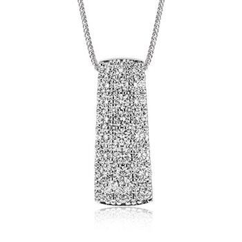 Nocturnal Sophistication Collection Diamond Pendant