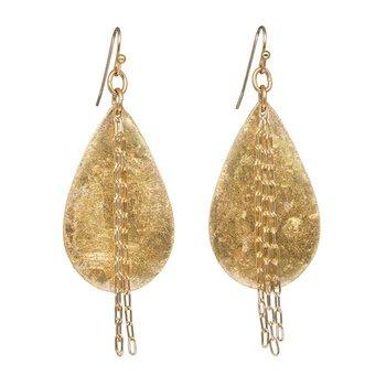 Delia in Chains Teardrop Earrings