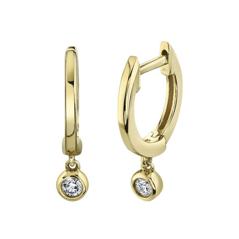 Lasker Diamond Fashion Huggie Hoops