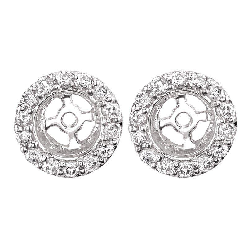 Lasker Diamond Fashion Center of My World Earring Jackets