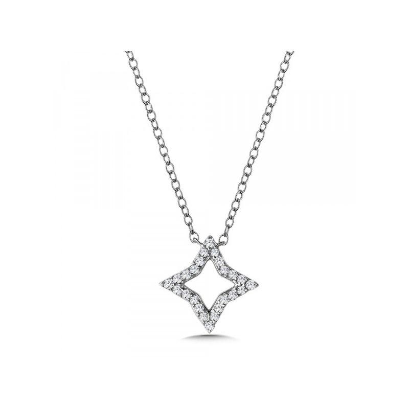 Lasker Diamond Fashion Northern Star Shadow Pendant