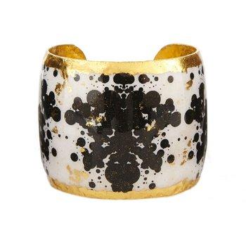 Rorschach 2' Black & White Cuff