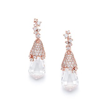 KENDRA SCOTT Becky Drop Earrings in rose